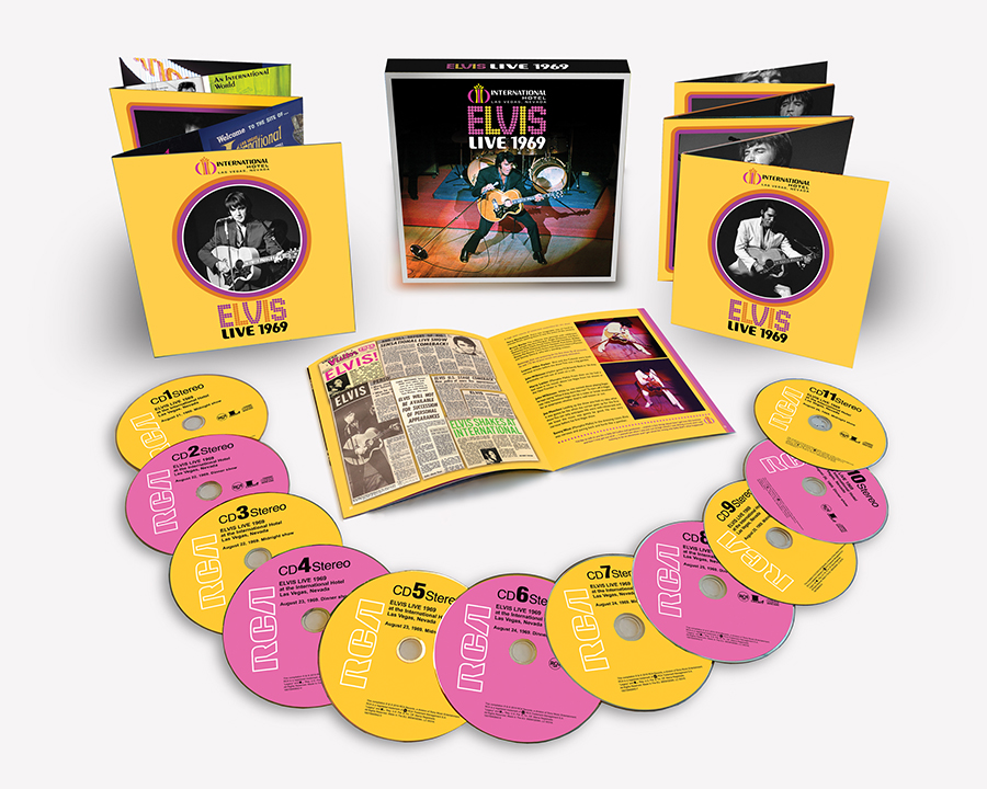 Elvis Presley's Pivotal Year of 1969 Celebrated with 50th Anniversary Box Set at the International Hotel in Las Vegas: Live 1969, Available Physically & Digitally August 9th