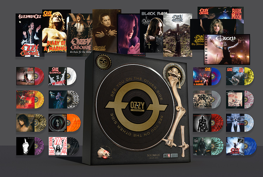 'See You On The Other Side': Definitive Ozzy Osbourne Vinyl Box Set To Be Released November 29
