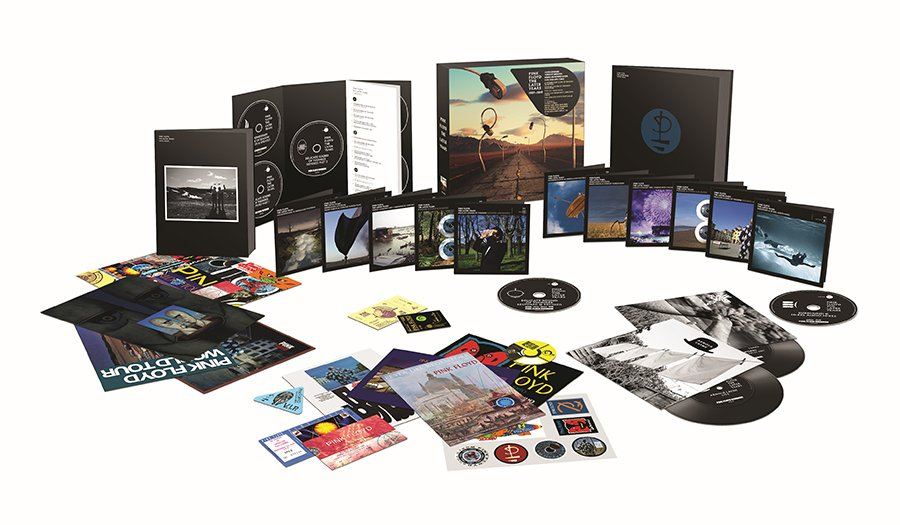 Pink Floyd To Release 'Pink Floyd The Later Years' – A Sixteen Disc Set Available November 29
