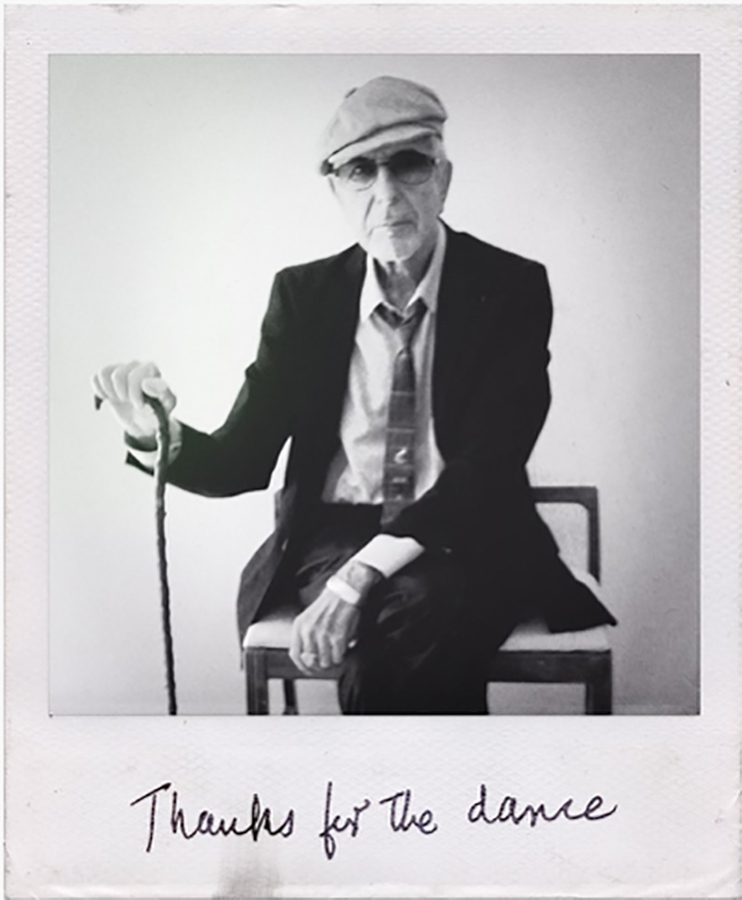 Announced Today, New Music From Leonard Cohen