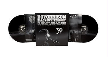 Roy Orbison's Black & White Night 30 Vinyl LP Set Out Oct 18 from Roy's Boys/Legacy; Entire Re-Conceptualized Comeback Special Available On YouTube Oct 23 To Coincide With 30th Anniversary