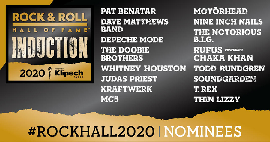 Rock & Roll Hall of Fame Announces Nominees for 2020 Induction