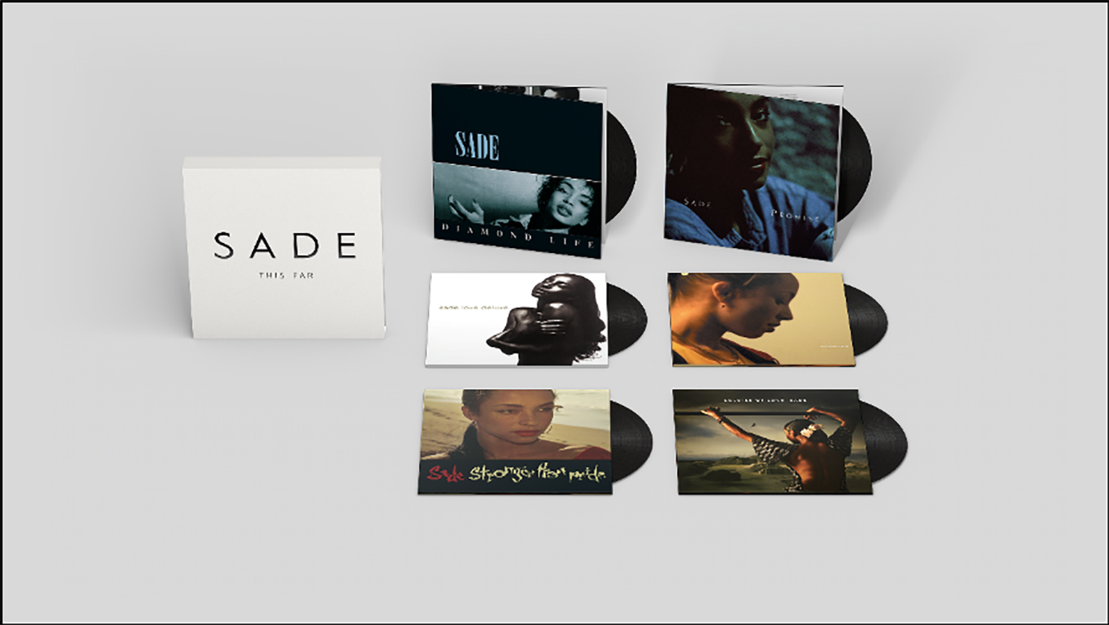 Sade Six Album Vinyl Box Set 'This Far' Announced Released 9th October 2020 On Sony Music