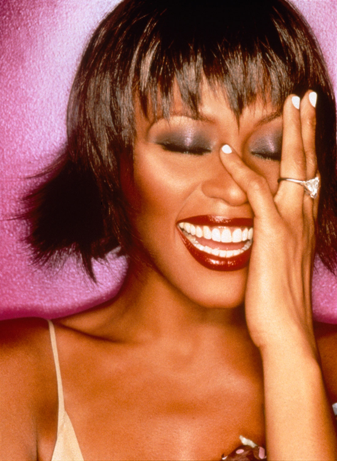 Whitney Houston Becomes First Black Recording Artist in History to Achieve Three RIAA Diamond Albums