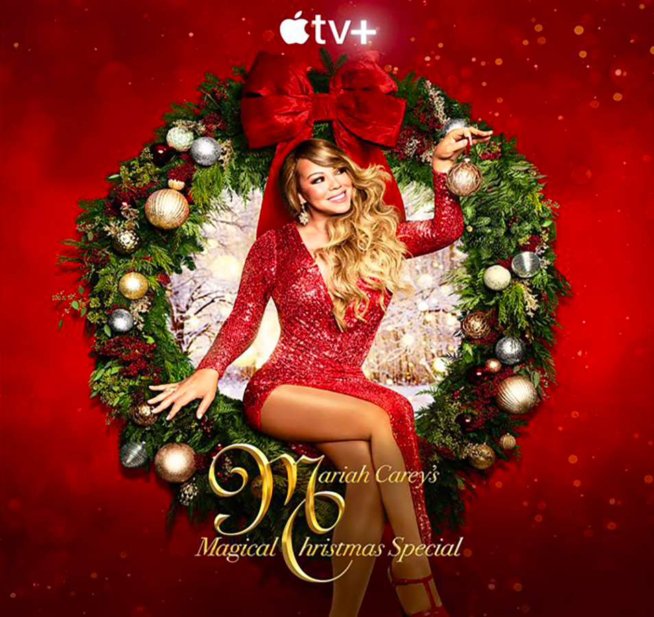 """Mariah Carey's Magical Christmas Special"" Debuts December 4 on Apple TV+, Together With The Full Companion Soundtrack Exclusively on Apple Music"