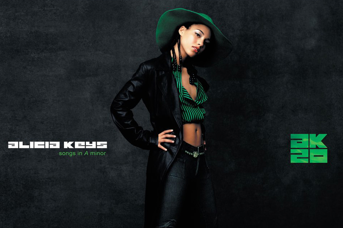 Alicia Keys Celebrates 20 Years Since Iconic Debut Album 'Songs In A Minor'