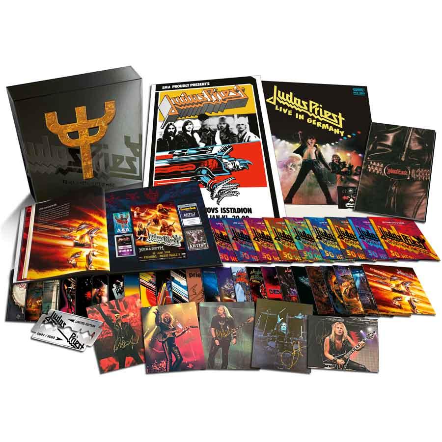 Judas Priest 50 Heavy Metal Years Of Music Limited Edition Box Set