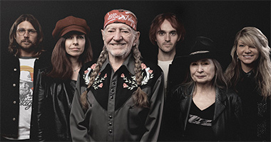 Legacy Recordings Set to Release 'The Willie Nelson Family,' the New Studio Album from Willie Nelson, on Friday, November 19