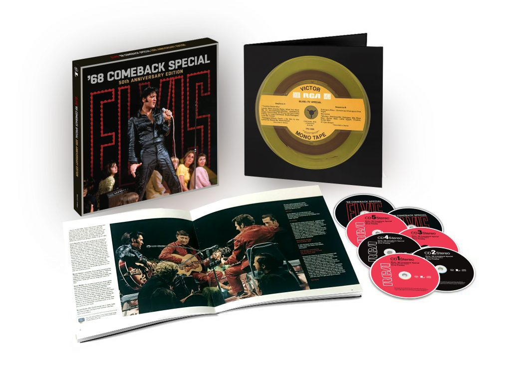 Elvis Presley – '68 Comeback Special (50th Anniversary Edition)' – OUT NOW
