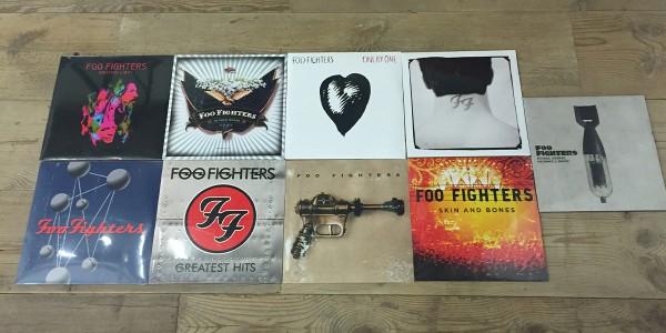Win a Bunch of Foo Fighters Vinyl