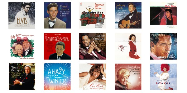 Get Christmas Albums For a Special Price on iTunes