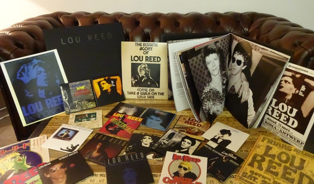 Explore Lou Reed The Rca And Arista Album Collection