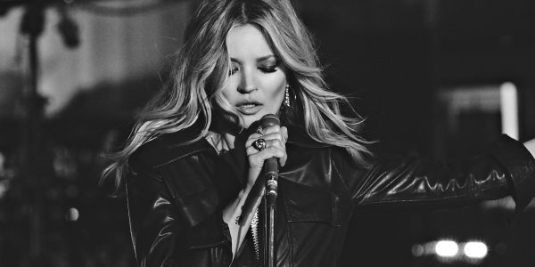 Watch Kate Moss channel her own inner Elvis