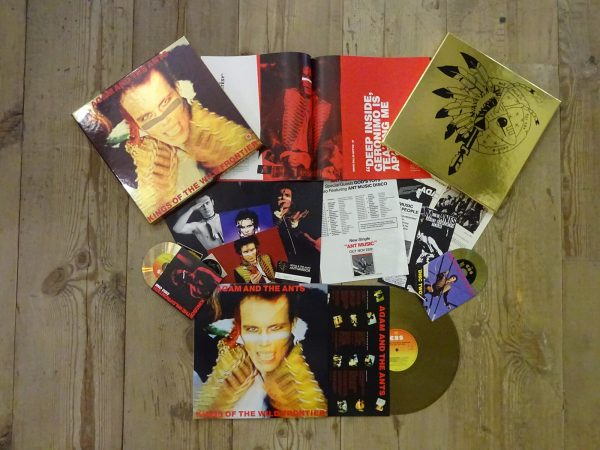 WIN ADAM ANT TICKETS & GOLD VINYL BOX SET
