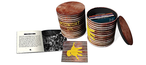 Midnight Oil – New World Tour & Comprehensive Box Sets