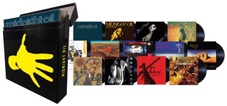 Midnight Oil Box Sets – Out Now