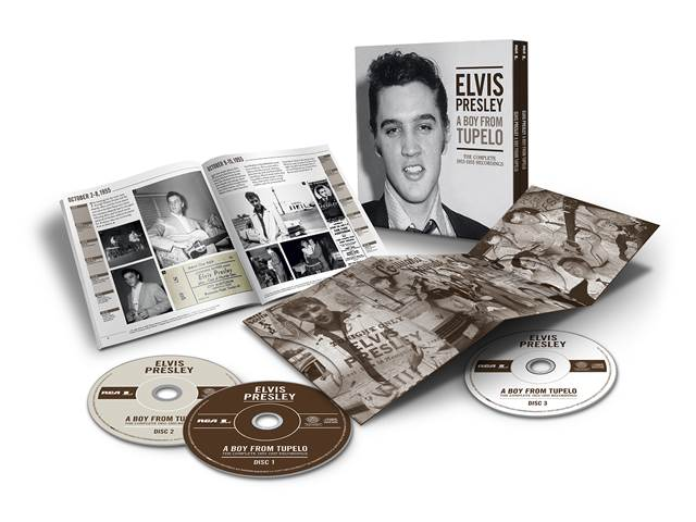 Elvis Presley – A Boy From Tupelo: The Complete 1953-1955 Recordings