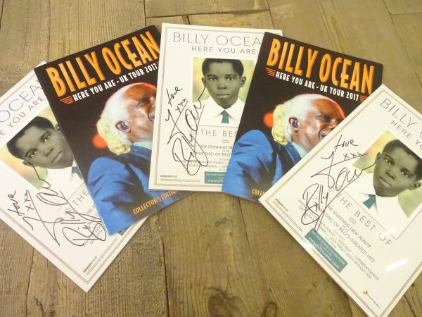 WIN SIGNED BILLY OCEAN PROGRAMMES