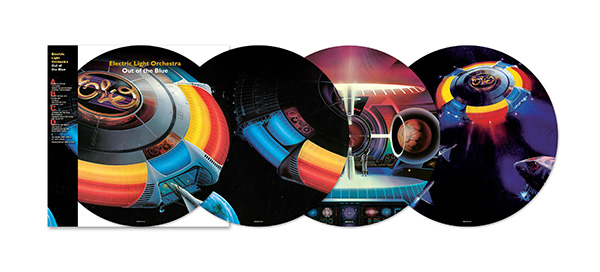 ELO's  'Out of the Blue' 40th Anniversary Picture Disc – Out Now
