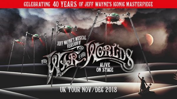 WAR OF THE WORLDS – ALIVE ONSTAGE + 40TH ANNIVERSARY REISSUE