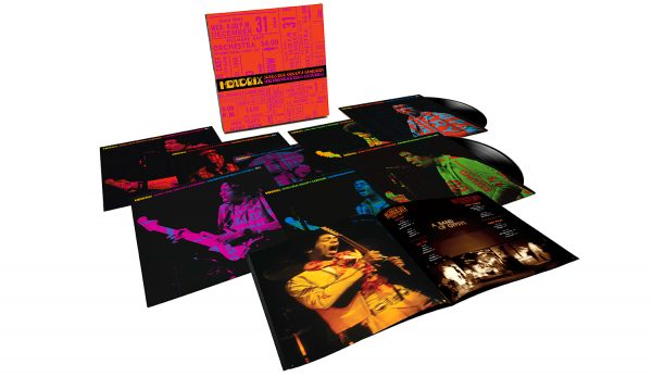Jimi Hendrix – 'Songs For Groovy Children: The Fillmore East Concerts'