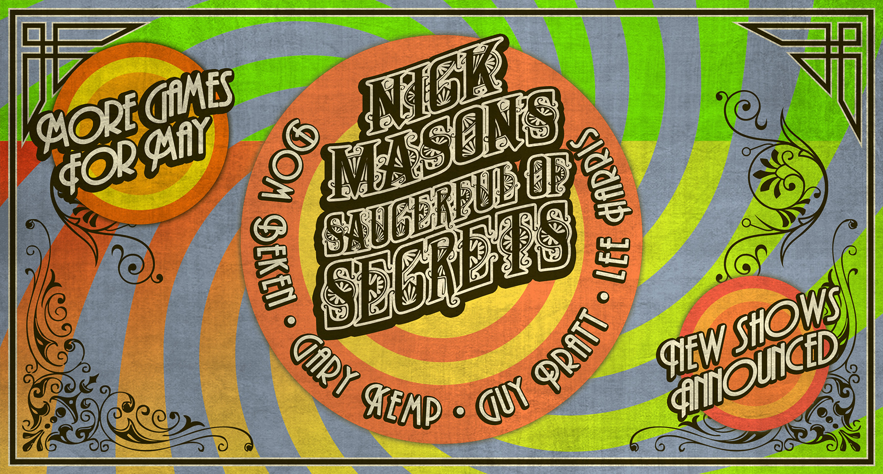 NICK MASON'S 'SAUCERFUL OF SECRETS LIVE AT THE ROUNDHOUSE'