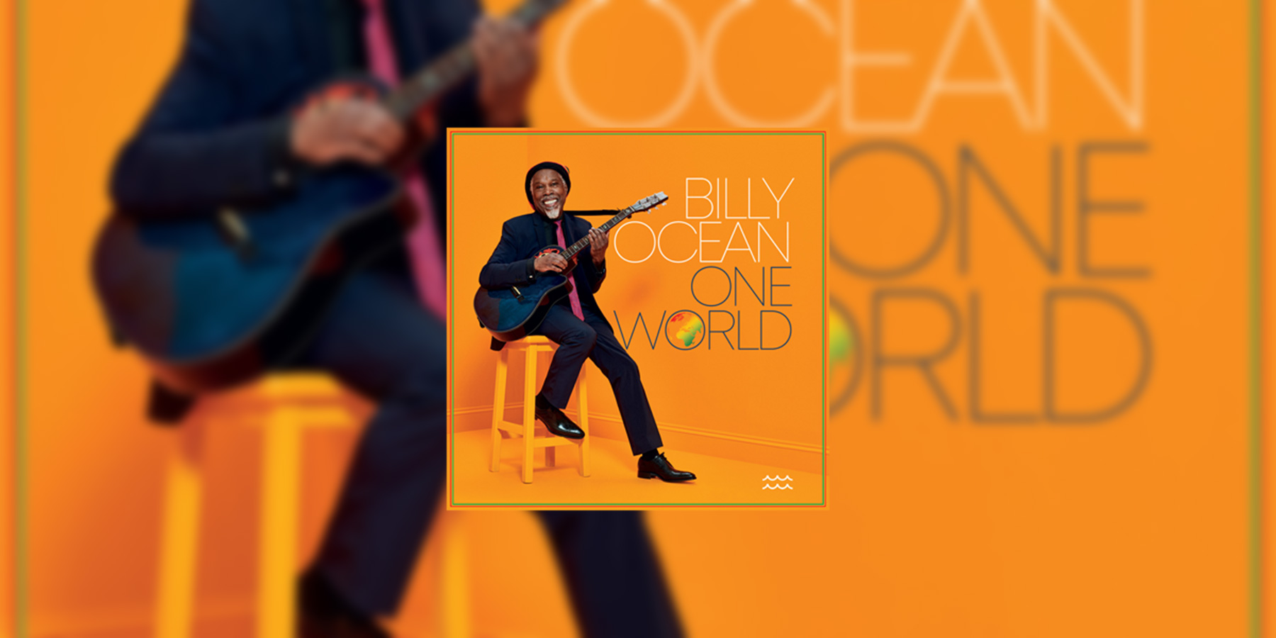 New Billy Ocean Album – 'One World'