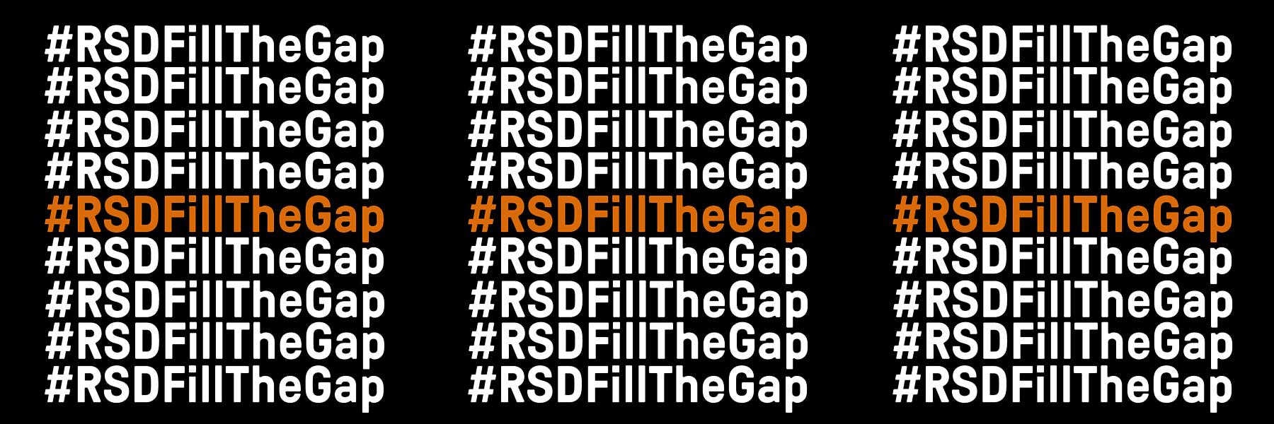 #RSDFillTheGap