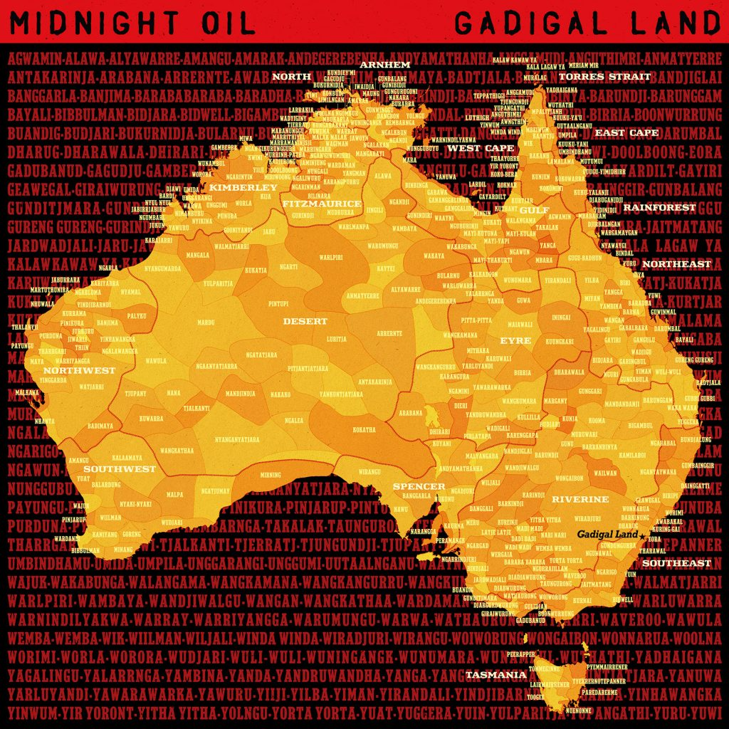 MIDNIGHT OIL 'GADGIGAL LAND'