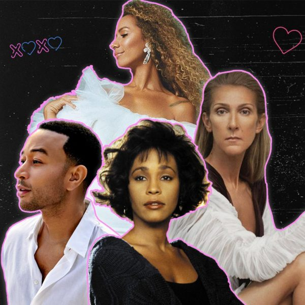 The best-selling love songs on the Official UK Chart