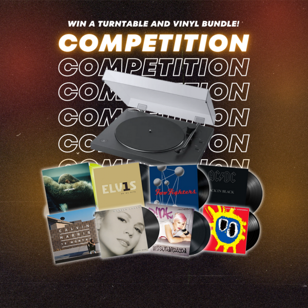 WIN A SONY TURNTABLE AND VINYL BUNDLE!