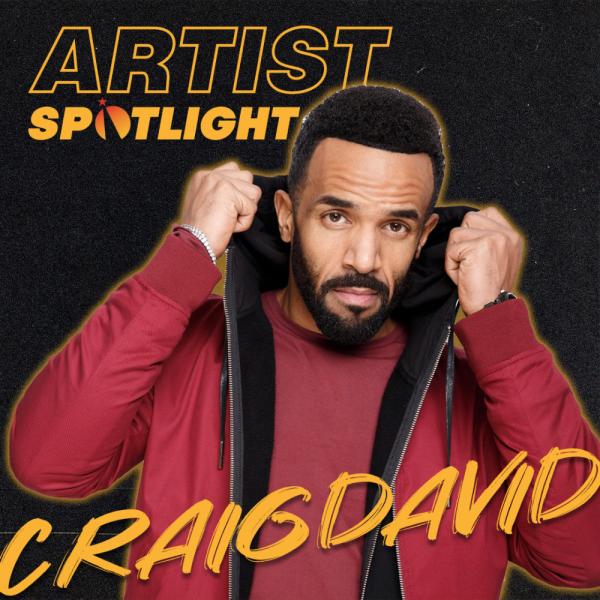 Introducing Our Artist Spotlight: Craig David