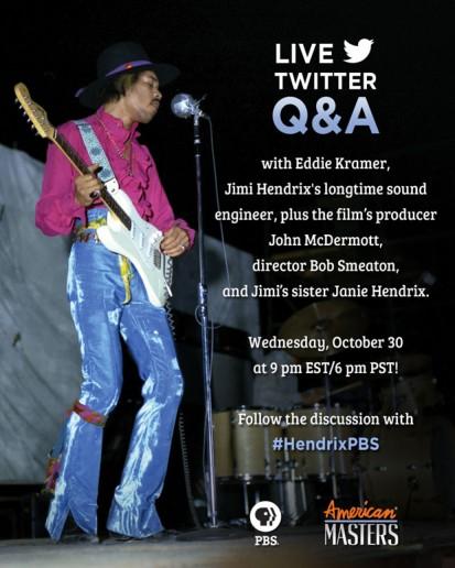 Jimi Hendrix – Live Twitter