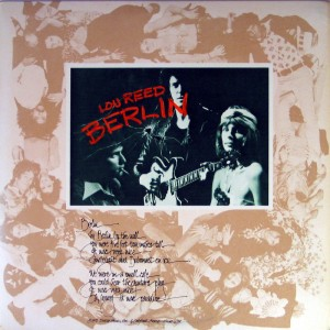 Lou Reed – Berlin