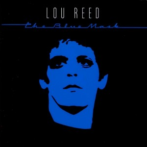 Lou Reed – the blue mask