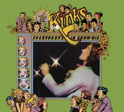 88875112362 Kinks Everybody's In Show-Biz CD Cover