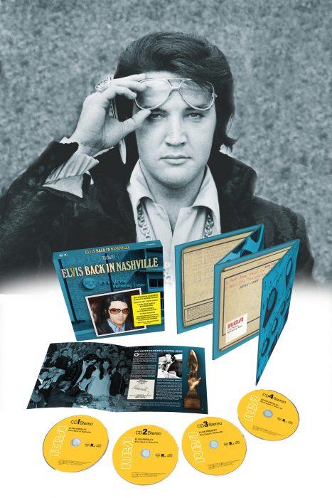 Elvis Back In Nashville 1971: le coffret (sortie le 12 novembre)