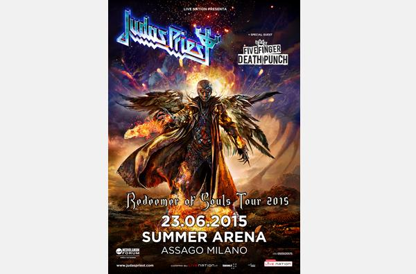 I JUDAS PRIEST TORNANO IN ITALIA PER UN'UNICA DATA LIVE