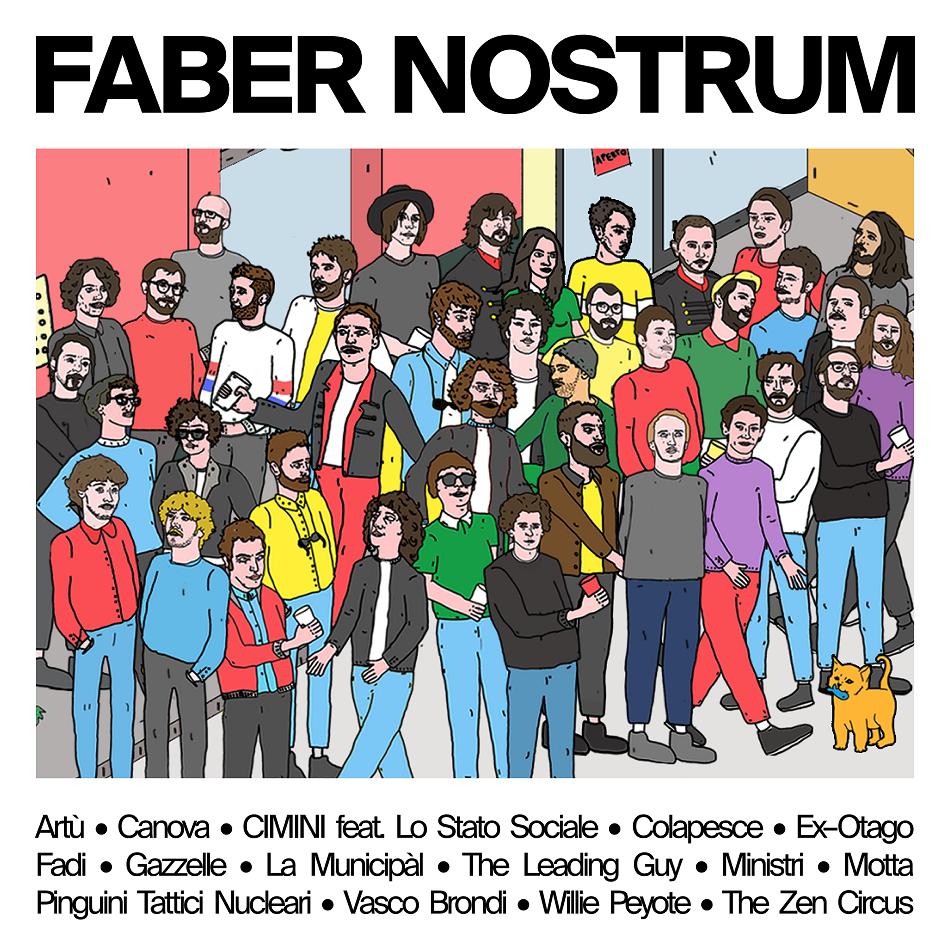 FABER NOSTRUM il disco tributo a FABRIZIO DE ANDRÉ