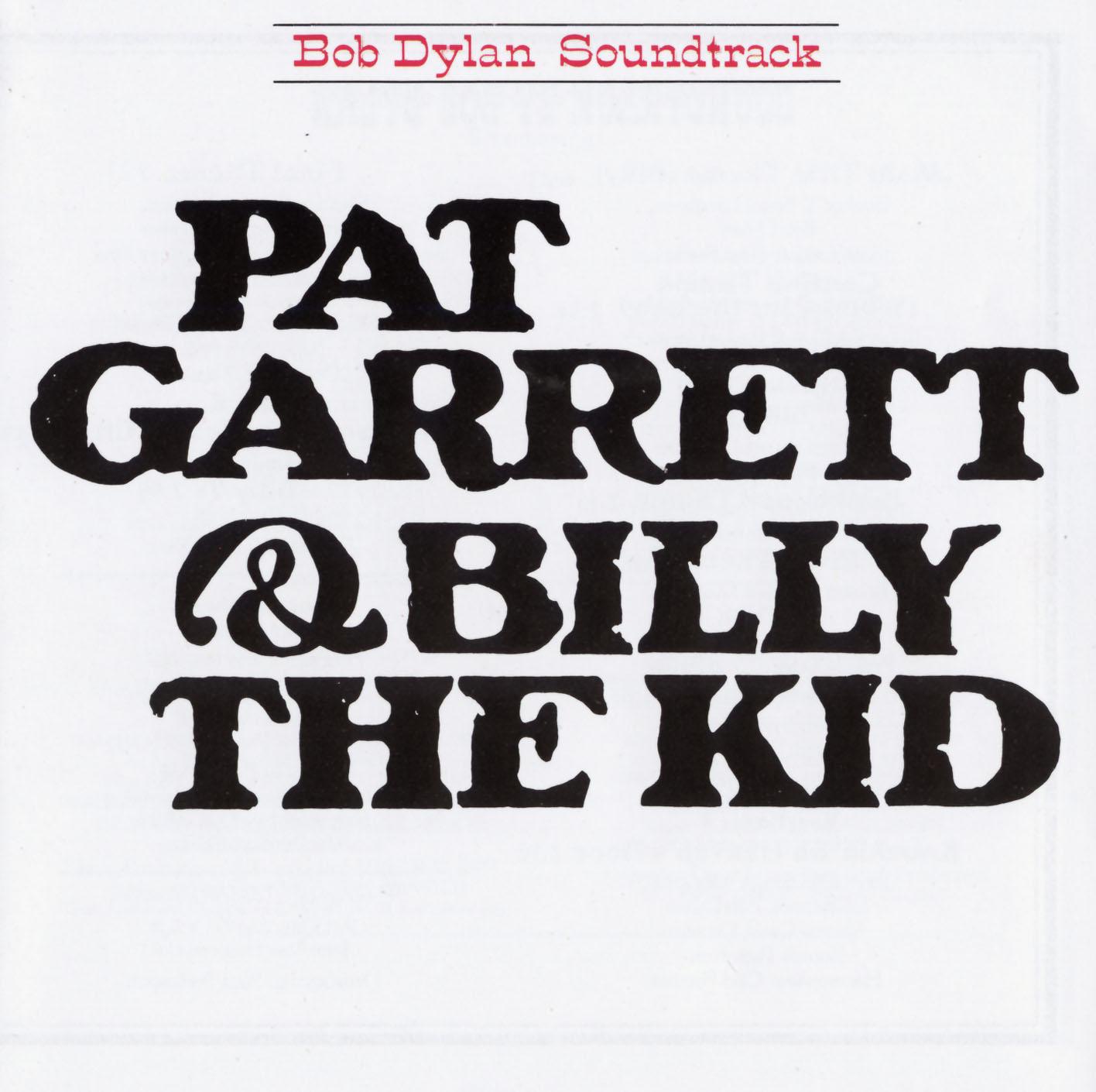 PAT GARRETT&BILLY THE KID