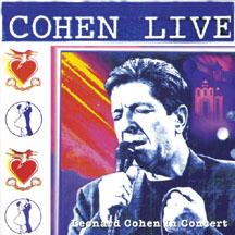 COHEN LIVE – LEONARD COHEN LIVE IN CONCERT