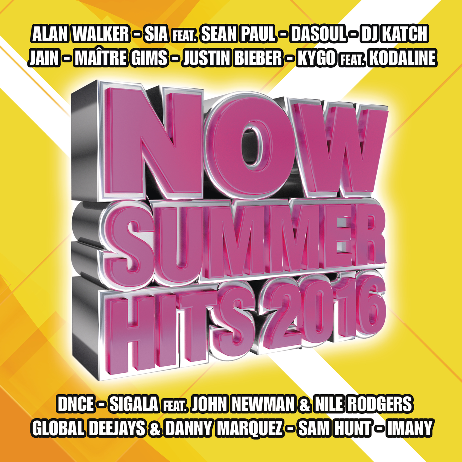 Now Summer Hits 2016