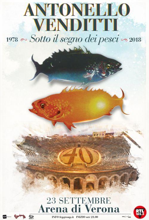 Sotto il segno dei pesci 2018 – Antonello Venditti