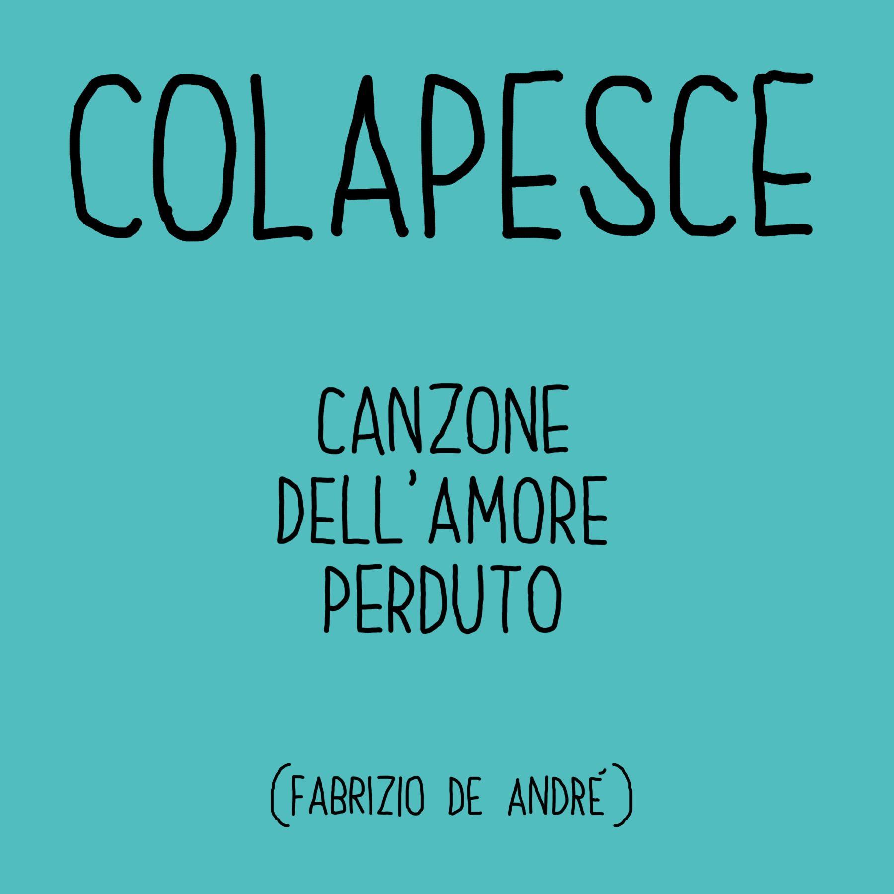 COLAPESCE – CANZONE DELL'AMORE PERDUTO