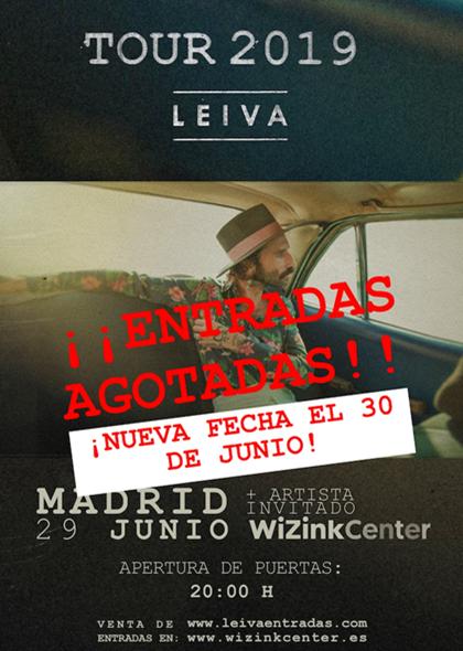 Leiva agota en menos de 24 horas las entradas para su concierto en Madrid y añade nueva fecha