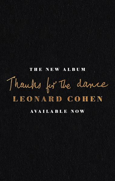 THE NEW ALBUM - THANKS FOR THE DANCE - AVAILABLE NOW