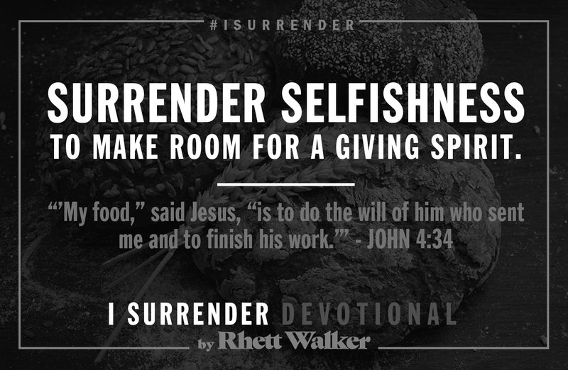 "Rhett Walker Band ""Selfishness"" (Devotional #4)"