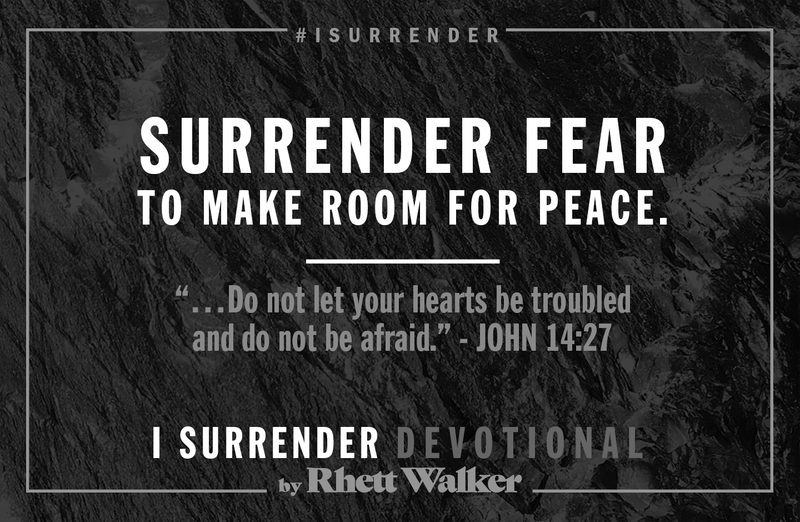 """Rhett Walker Band """"Fear"""" (Devotional #1)"""