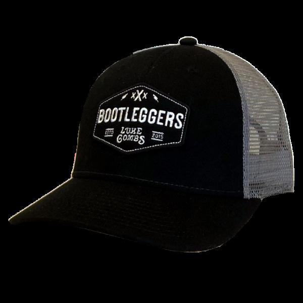 LC Black and grey bootleggers ballcap