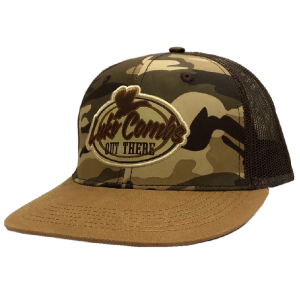 LC brown camo ballcap
